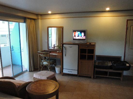Sunshine Vista Serviced Apartment : Pattaya Sunshine Vista Deluxe Living Space