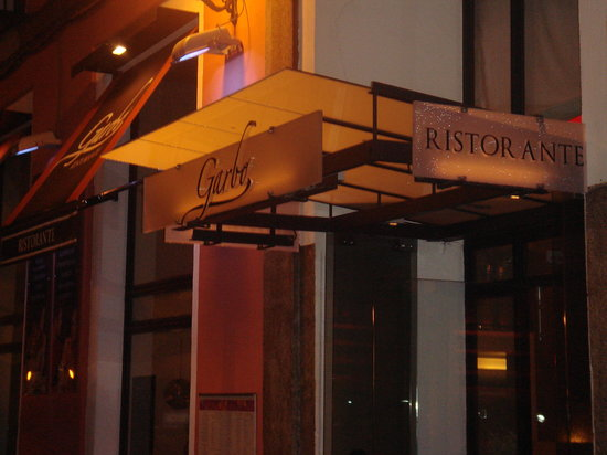 Garbo Ristorante: The Entrance.