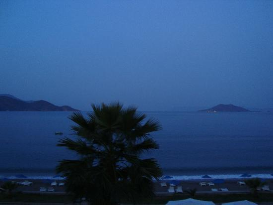 Evening, from balcony, Gunes hotel