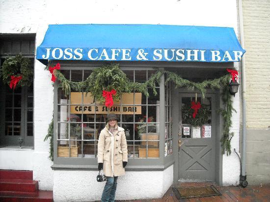 Joss Cafe Sushi Bar Outside