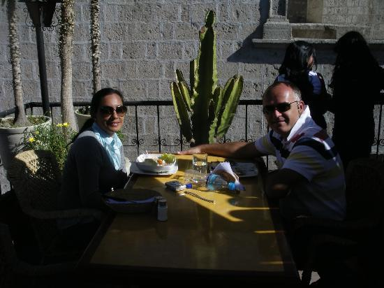 Posada el Castillo: Excellent restaurants serving trout, alpaca and great fusion dishes at affordable prices