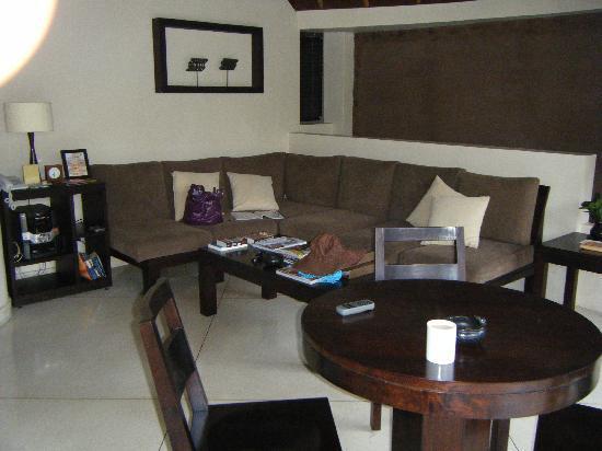 Dusun Villas Bali: Dusun outdoor lounge area - single villa