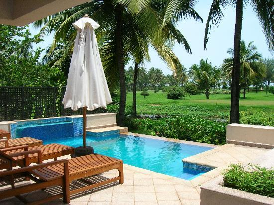The Leela Goa : Royal Villa pool