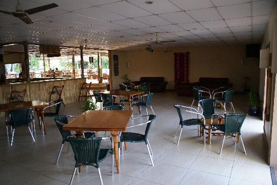 Tanoa Skylodge Hotel: 夜はカバや映画会が開かれていました