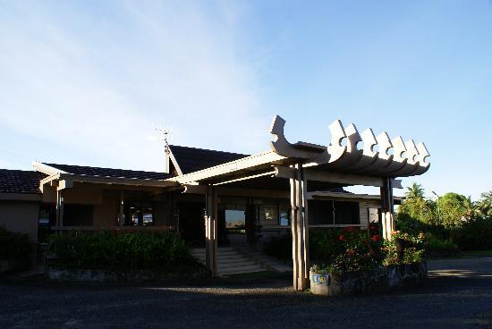 Tanoa Skylodge Hotel: レセプション入口