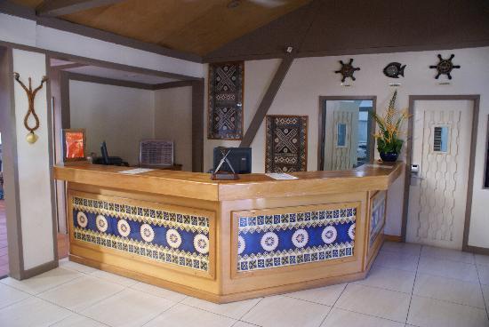 Tanoa Skylodge Hotel: レセプション