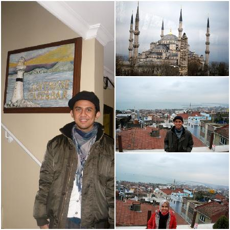 Hotel Fehmi Bey: Rooftop Cafe View 1