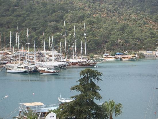 Duygu Pension: view  of  the  sea