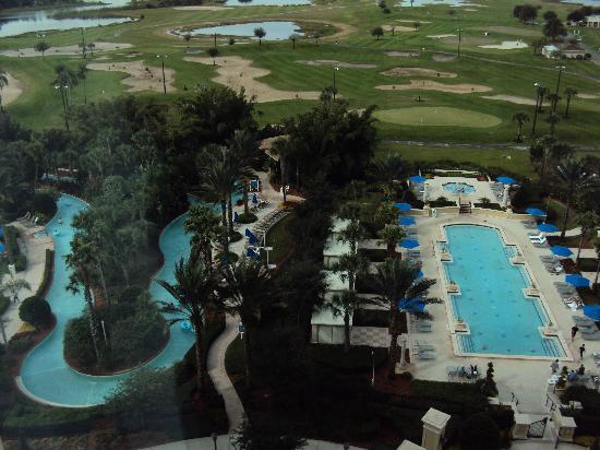 View From Villa Golf Course Picture Of Omni Orlando