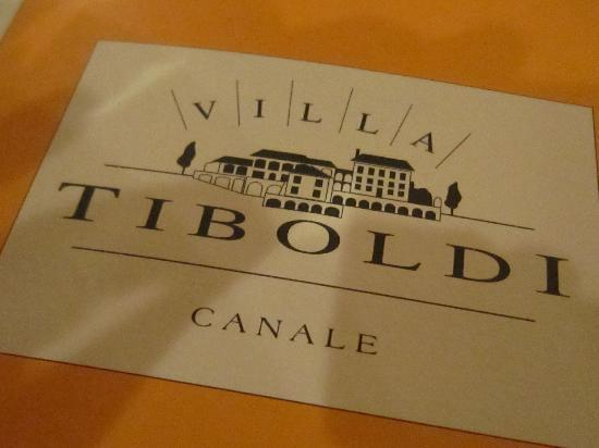 Canale, Italien: Villa Tiboldi