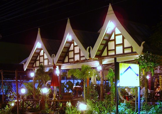Takieng Restaurant: The Takieng at Night