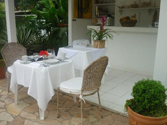Vivenda Paraty: petit dejeuner