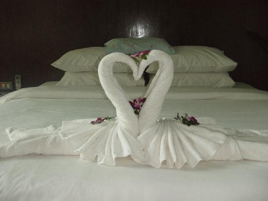 Towel Origami Picture Of Aonang Paradise Resort Ao Nang Tripadvisor