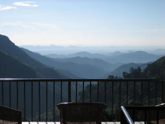 The Mountain Heavens : View from restaurant area