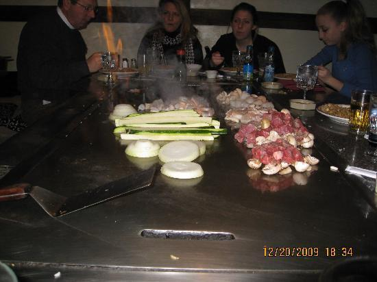 Ichiban Japanese Steakhouse: Ichiban chef cooking at your table.