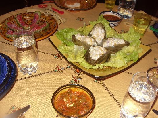 Riad Felloussia: salads