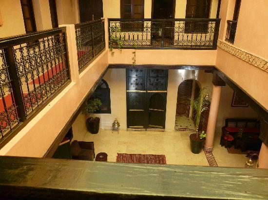Riad Agathe: Vue du centre du ryad