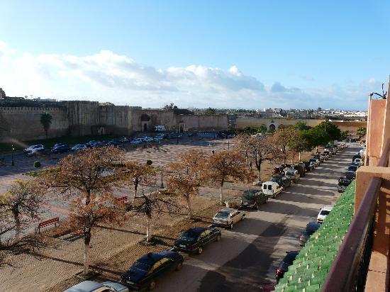 Riad Agathe: Vue de la terrasse sur la médina