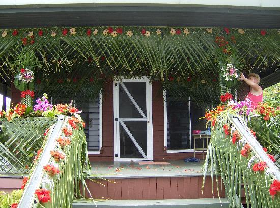 Nukubati Private Island: Bure Ceremonial Decoration