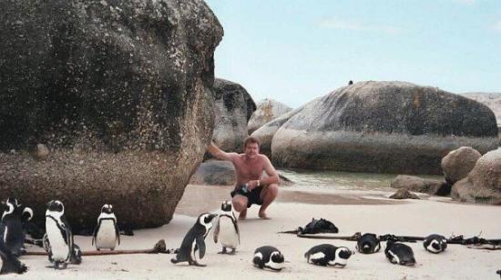 Пляж Болдерс (Булыжники): Boulders Beach, Cape Town, 2006