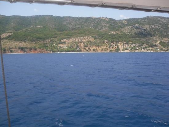 Favoritt beachen på Alonissos - Picture of Alonnisos ...