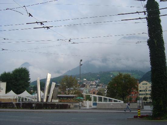โรงแรม อินน์ซบรุค: View to the ALPES