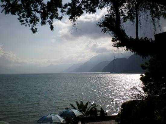 Lake Atitlan in Panajachel, Guatemala. This photo is amazing!! So beautiful there!
