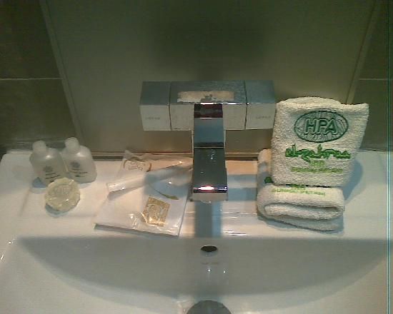 El Zahraa Inn: toileteries