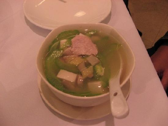 East 33: Bitter Melon with Tofu and Pork Soup