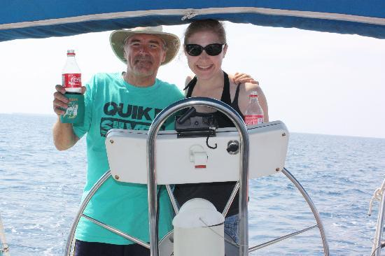 Casa La Fe - a Kali Hotel: Sailing with Captain Geoff!