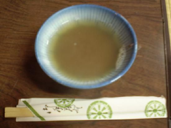 Toganji Temple : 新年に振舞われる開運ぜんざい