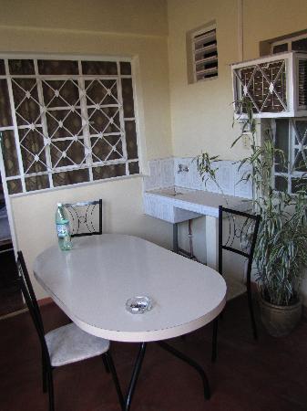 Villa Corrales: own little private terrace