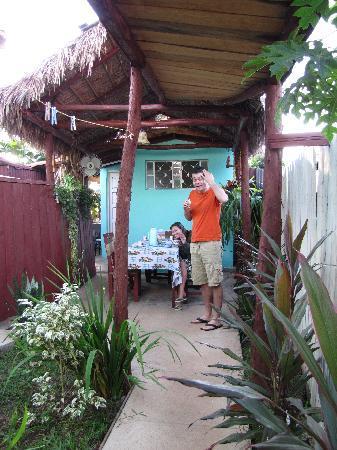 Villa Corrales: breakfast time