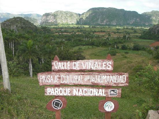 Villa Corrales: the valley...beautiful