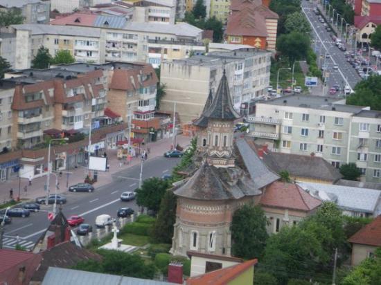 Piatra Neamt from telegondola
