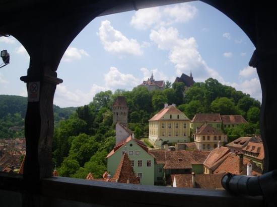 หอนาฬิกา: Church Citadel from Clock Tower