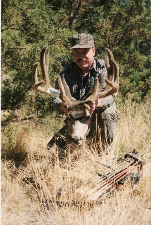Mitchell, Oregón: Bow Season Mule Deer. Jefferson County Oregon. 1995.
