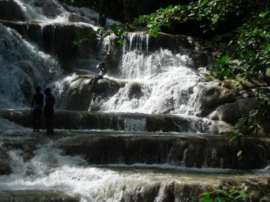 Exploring Jamaica Tacky Falls James Bond Beach In St Mary
