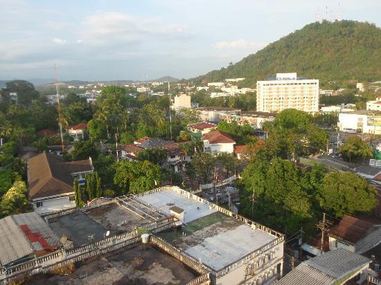 I Pavilion Phuket Hotel: 部屋からの眺めです。