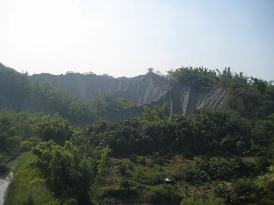 Tsaoshan Moonscape Scenic Area: このバス停が最寄の停留所