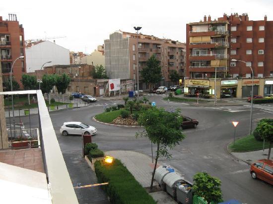 Hotel Ronda Figueres: Terrace view
