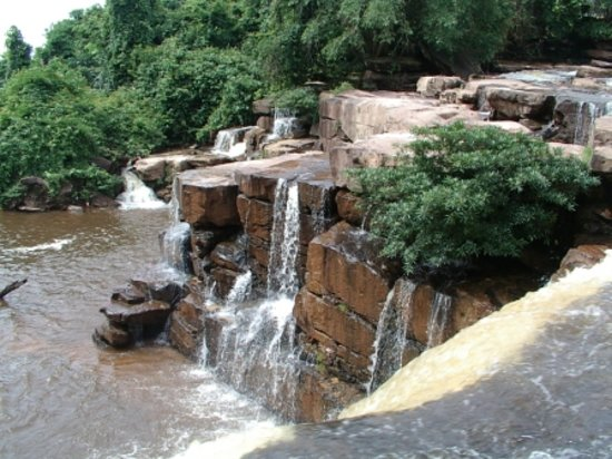 Sihanoukville, Camboya: Main Waterfall Face