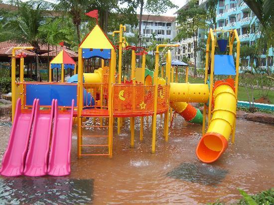 water theme park - Picture of Lotus Desaru Beach Resort ...