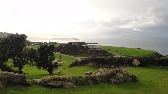 Monte de San Pedro: One of the guns in the park