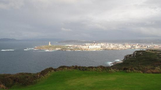Monte de San Pedro: view from Mont de San Pedro