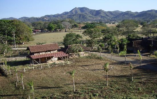 El Sabanero Eco Lodge: view from the cabin at el sabanero