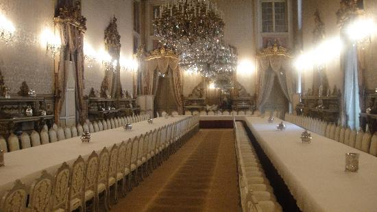 inside the palace - dining room - picture of ajuda national palace