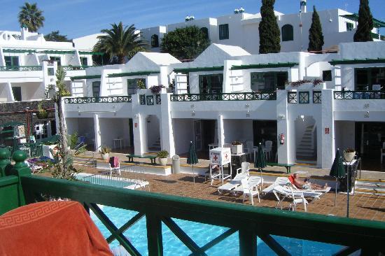 Club Las Calas: View from Rm 260