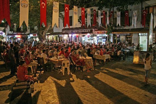 Meydan Restaurant during Euro 2008 Germany v Turkey