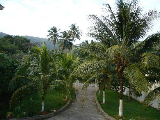 Crosswinds Villa Bed & Breakfast: View from the front balcony